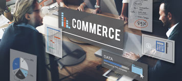 Commerce Marketing Business Finance Concept stock photography