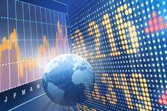 Commerce mondial Illustration Stock