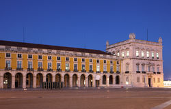 Commerce square, Lisbon Royalty Free Stock Images