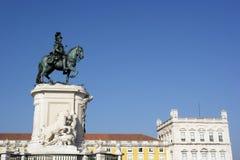 Commerce square, Lisbon, Portugal. Commerce square at Lisbon, Portugal Stock Image