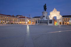 Commerce Square in Lisbon. Portugal Stock Images
