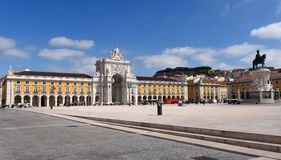Commerce Square in Lisbon, Stock Image