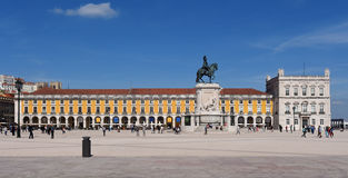 Commerce Square in Lisbon, Stock Photos
