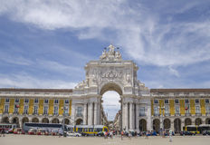 Commerce Square, Lisbon, Portugal Royalty Free Stock Images