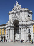 Commerce Square - Lisbon - Portugal royalty free stock photography