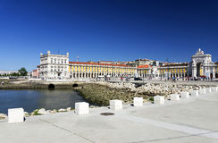 Commerce Square in Lisbon Stock Photo