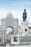 Commerce Square Lisbon Royalty Free Stock Photo