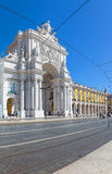 Commerce Square, Praca do Comercio or Terreiro do Paco Stock Photography