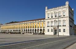 Commerce square - Praca do commercio in Lisbon - Portugal. Stock Image