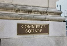 Commerce Square Stock Image