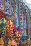 Commerce sur le marché indien Singapour Photo libre de droits