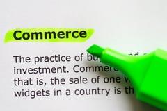 Commerce Stock Image