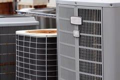 Commerciële Airconditioners Stock Fotografie