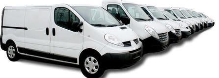 Commerciële autovloot royalty-vrije stock foto