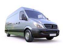Commerciële bestelwagen royalty-vrije stock foto's
