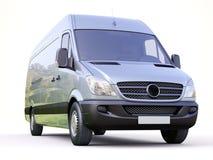 Commerciële bestelwagen stock afbeelding