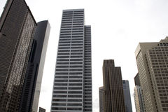 Commerciële gebouwen stock afbeelding
