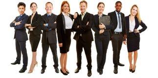 Commerciële groep als het raadplegen van team royalty-vrije stock afbeelding