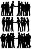 Commerciële groepen vector illustratie