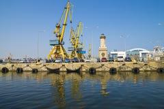 Commerciële haven van Constanta Royalty-vrije Stock Afbeeldingen