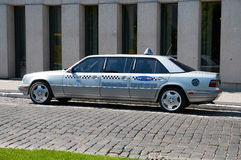 Commerciële klassen euro taxi poznan Royalty-vrije Stock Fotografie