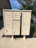 Commerciële postpostbus Stock Foto