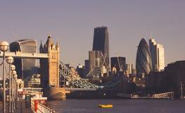 Commerciële Stad royalty-vrije stock fotografie