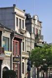 Commerciële streetã van Peking Qianmen Stock Afbeeldingen