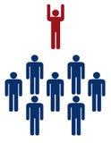Commerciële team/familie Stock Afbeelding