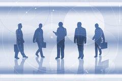 Commerciële teamillustratie vector illustratie