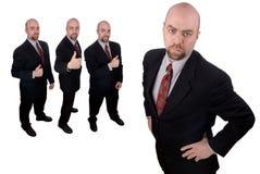 Commerciële teamleider Stock Foto