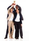 Commerciële teamtrofee Stock Foto's