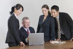 Commerciële teamvergadering Royalty-vrije Stock Foto's