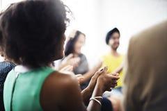 Commerciële teamvergadering het Werk het Spreken Concept royalty-vrije stock foto's