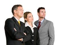Commerciële teamvisie Stock Foto