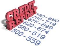 Commerciële van de kredietunie de financiële diensten stock illustratie