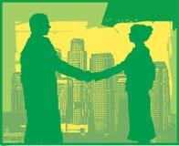 Commerciële Vergadering stock illustratie