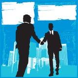 Commerciële Vergadering 3 royalty-vrije illustratie