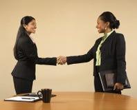 Commerciële vergadering. stock foto's