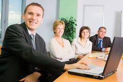 Commerciële Vergadering stock foto