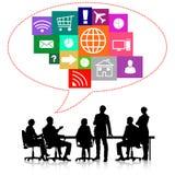 Commerciële vergadering Stock Afbeelding
