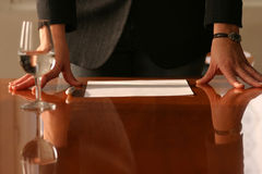 Commerciële vergadering Royalty-vrije Stock Afbeeldingen