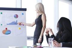 Commerciële vergadering Stock Fotografie