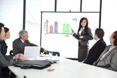 Commerciële vergadering - groep mensen Royalty-vrije Stock Fotografie