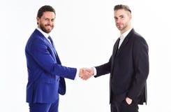 Commerciële vergadering Het bedrijf van transactieleiders Hoofdfusie Blij om u te ontmoeten Dank u voor samenwerking stock foto