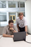 Commerciële vergaderingscollega's Stock Foto