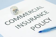 Commerciële verzekering Royalty-vrije Stock Foto's