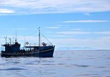Commerciële visser Stock Foto