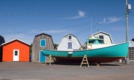 Commerciële Vissersboot royalty-vrije stock foto