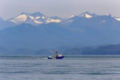 Commerciële vissersboot in Alaska royalty-vrije stock fotografie